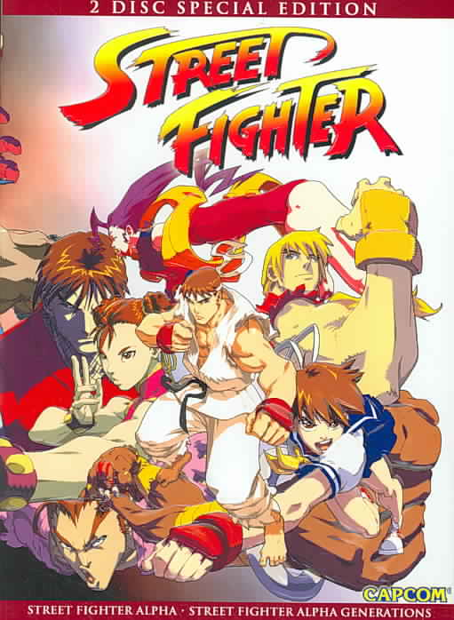 STREET FIGHTER ALPHA/STREET FIGHTER A BY STREET FIGHTER ALPHA (DVD)